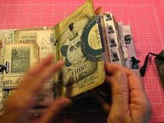 Different Styles of Junk Journals Show and Tell - YouTube