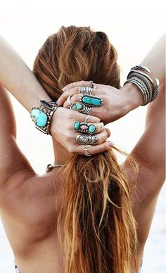 16 Jewelry Layering Photos That Are Crazy Popular on Pinterest via /WhoWhatWear/