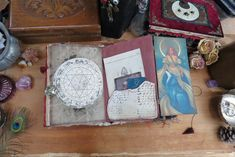 Junk Journal, Witch, Wolf, Etsy Seller, Creative, Wolves, Witches, A Wolf, Witch Makeup