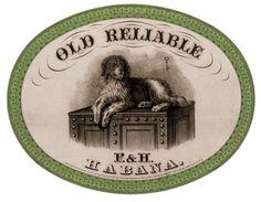 vintage clip art, dogs, etiqueta vintag, graphics fairy, cigars, graphic fairi, vintag label, cigar label, vintage labels printables