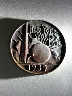 RARE 1939 NY World's Fair Howard Johnson's Ice Cream Coin Token