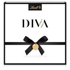 İsviçre çikolatası Lindt Diva Şampanya Çikolatası Hediye Kutusunda.