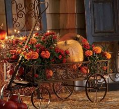 Fall decorating idea from Southern Chicks