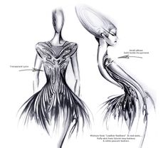 organic futuristic fashion - Google Search