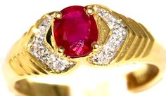 18K Yellow Gold Diamond and Oval Ruby Solitaire Ring [R00... https://www.amazon.com/dp/B00BRJ36P4/ref=cm_sw_r_pi_dp_FDFExbEDW8QF1