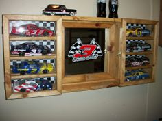 American Metalcraft BZZ95B Rectangular Wire Zorro Baskets Small Black. Nascar Man CaveDisplay casesCar ... & The perfect cabinet for displaying model cars and motorcycles ...