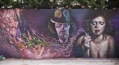 Streetart: Caktus and Maria – Murals in San Severo // Italy