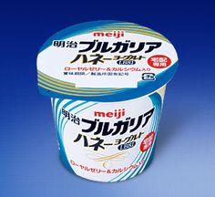 Meiji Bulgaria Honey Yogurt
