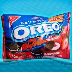 Japan OREO STRAWBERRY Amaou Soft Cookies Ichigo Japanese Candy Nabisco  #Oreo #Candy