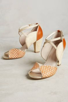 Slide View: 1: Coco Polka Dot Heels