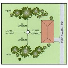 How to locate & install your purple martin housing system.