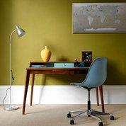 Bold colour for studies: Decorating Ideas: Interiors