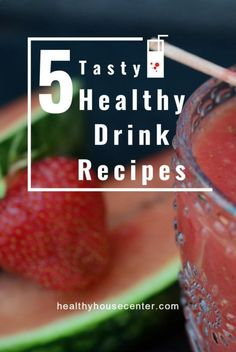 Tasty Healthy Drink Recipes To Make In A Blender