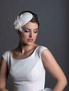 White bridal small fascinator hat. New design for 2021 weddings. Silk Roses, Silk Flowers, Rose In Hand, Wedding Reception Planning, Wedding Fascinators, Japanese Flowers, Fascinator Hats, White Bridal, Fabric Samples