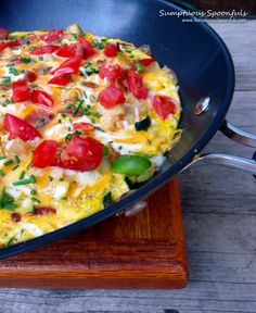 Garden Fresh Fritatta with Bacon