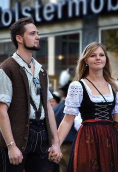Trajes típicos de Alemania.