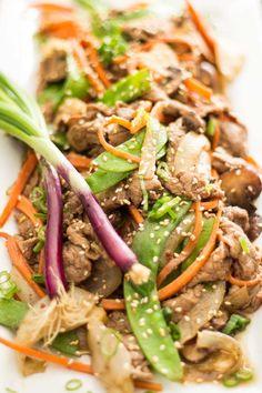 Quick Szechuan Beef