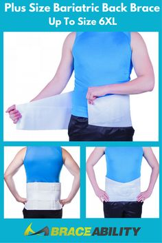 d1b1f47d6a0de Plus Size Bariatric Back Brace up to 6XL-- Those who are carrying around  extra
