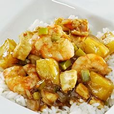 Sweet and Sour Shrimp http://www.cheflogrorecipes.com/sweet-and-sour-shrimp/