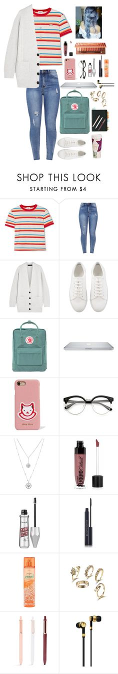 """""""cold coffee shop🌾"""" by melindsx ❤ liked on Polyvore featuring RE/DONE, Proenza Schouler, Fjällräven, Miu Miu, Wet n Wild, Master & Dynamic and Vera Bradley"""