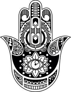 Hamsa hand - Temporary Tattoo by WildLifeDream on Etsy https://www.etsy.com/listing/194419135/hamsa-hand-temporary-tattoo