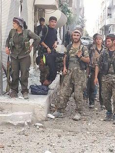 DAY 40 OF YPG/YPJ RESISTANCE IN #KOBANE! #KobaneWeSaluteYou