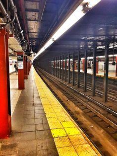 Subway!!!! #newyork #transport #taketheredline