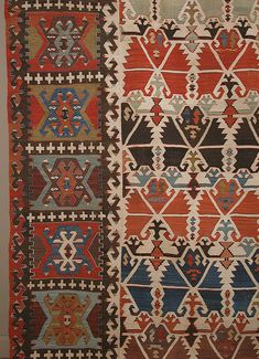Hotamis Kilim (detail), central Anatolia, early 19th century - Wikipedia
