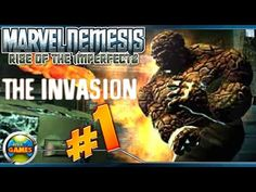 Marvel Nemesis: Rise of the Imperfects walkthrough The Invasion parte #1
