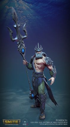 ArtStation - SMITE: Poseidon, Miles Wadsworth