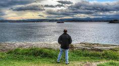 Disfrutando de las vistas