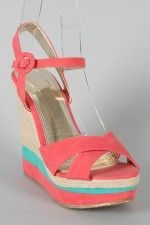 beach! also in blue with orange platform stripe!