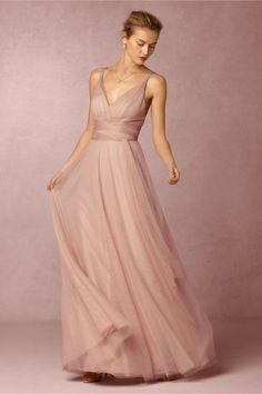 convertible dream dress | Zaria Dress in Rosewood from BHLDN