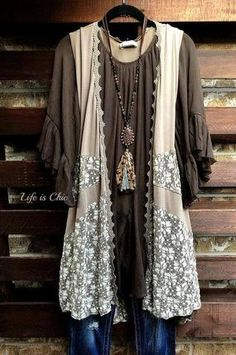 Plus Size Boutique - Plus Size Online Boutique – Page 2 – Life is Chic Boutique Fashion Tips For Women, Diy Fashion, Fashion Outfits, Womens Fashion, Festival Looks, Moda Hippie Chic, Bohemian Style, Boho Chic, Boho Hippie