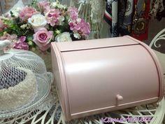 Pink Bread & Patisseries Storage Tin