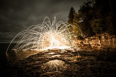 Door County Sparks by Spencer Hughes on 500px