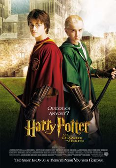 Harry Potter 30 Day Challenge: Day 5, Favorite Male Character. DRACO MALFOY and HARRY POTTER. I just love how these boys are like yin and yang! Two sides of the same coin.