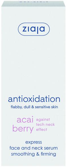 """Acaibeere - antioxidatives Express-Serum für Gesicht und Hals, wirkt gegen den """"tech neck"""" Effekt, für schlaffe, matte und sensible Haut. , 50 ml    Acaibeere antioxidantisches Serum-Konzentrat - Erholungskur für müde, schlaffe und empfindliche Haut.   Befeuchtet intensiv, glättet und stärkt die Haut. Beinhaltet aktive natürliche Wirkstoffe. Serum, Sensitive Skin, Tech, Calm Down, Black People Humor, Berries, Skincare Routine, Face, Health"""