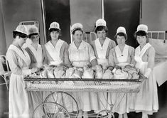 Baby Buffet: 1919  -- those babies would be 94 years old!
