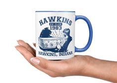 Hawkins AV Club - Stranger Things Mug - Hawkins Stranger Things - Stranger Things Coffee Mug - 1983 - Hawkins Indiana Mug.