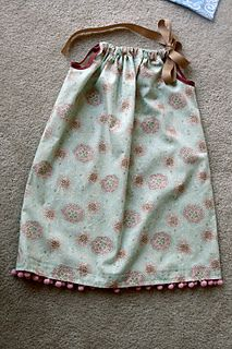 Pillowcase dresses...either send simple ones to Africa or make fancy ones for the states.