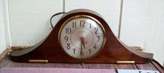 Vintage 1940's Sessions Clock Co. Self Starting Electric Mantle Clock ~ WORKS | eBay