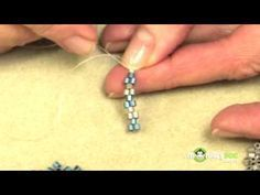 Beading Basics-Peyote Stitch MonkeySee Video on YouTube Terri Gable of Studio Baboo demonstrates beading basics. She includes several basic stitches such as peyote, brick and herringbone and shows how to correct simple mistakes.