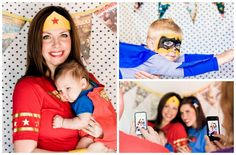 Awesome Super Hero Birthday Party. Maybe For A First Birthday