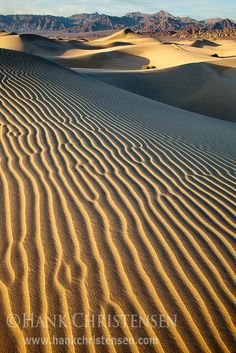 Mesquite Dunes, Death Valley National Park - California, USA