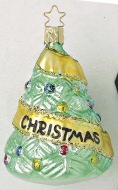 Inge Glas 2004#Christbaumschmuck#aus dem Hause Inge Glas.Weihnachtsbaumschmuck made in Germany mundgeblasen und von Hand bemalt bei www.gartenschaetz...