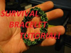 Paracord Survival Bracelet Tutorial, Tips and Tricks