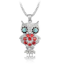 Přívěsek Swarovski sova Swarovski, Diamond, Jewelry, Fashion, Moda, Jewlery, Jewerly, Fashion Styles, Schmuck