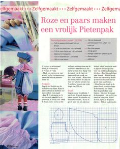 zwarte piet patroon 1 van 2, komt uit een oude Libelle Made To Move Barbie, Dress Up Outfits, Barbie Patterns, Holiday Fun, Baby Kids, Arts And Crafts, Sewing, How To Make, Diy