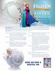 Frozen Sister Bracelets.